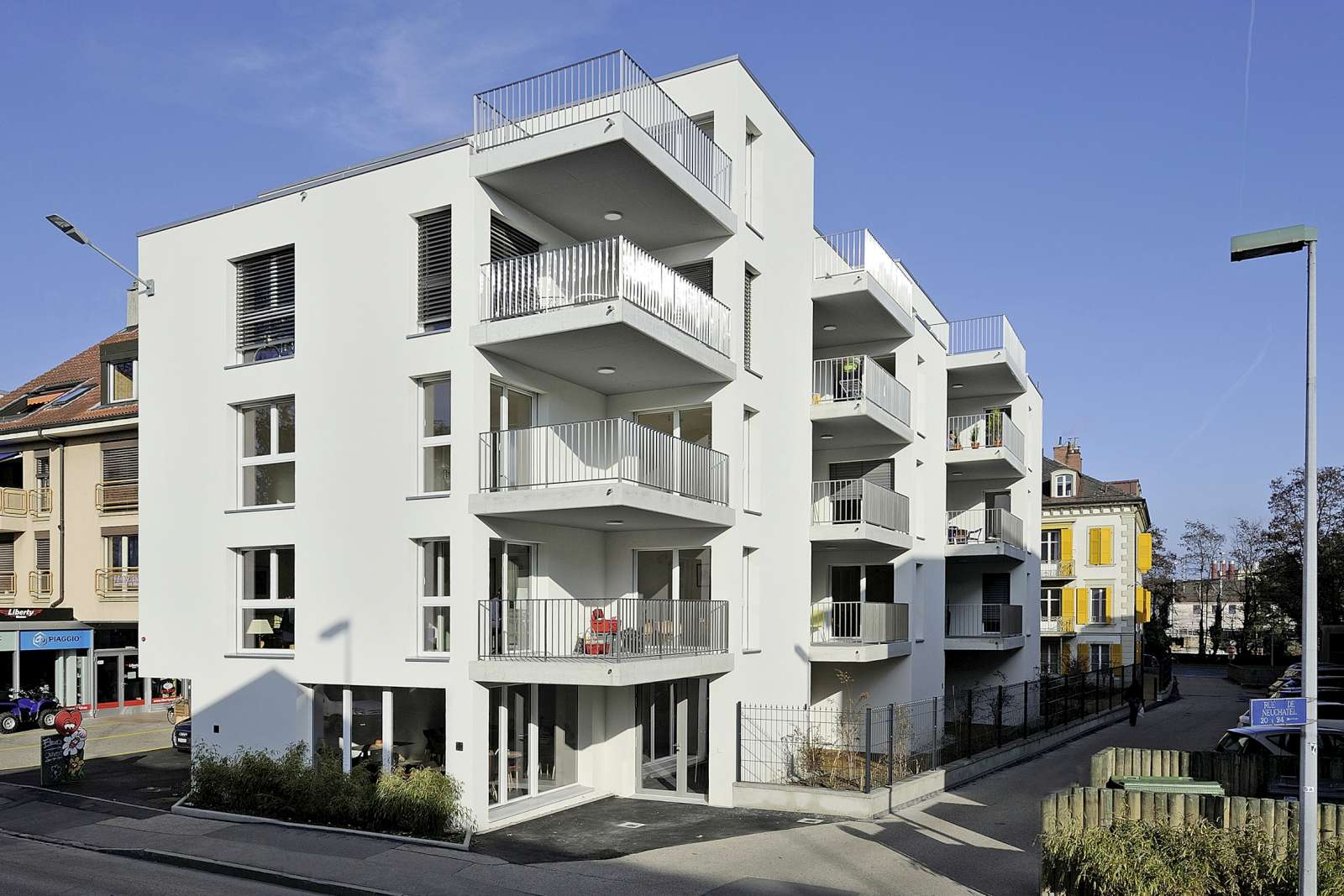 Logements vautier yverdon edifea for Cherche appartement a yverdon